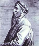 portret van Pieter Bruegel de Oude
